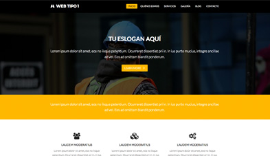 web en wordpress modelo A