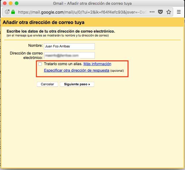 configuracion de cuenta gmail 1