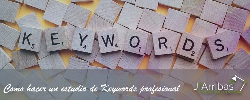 Como Hacer Estudio Keywords Profesional